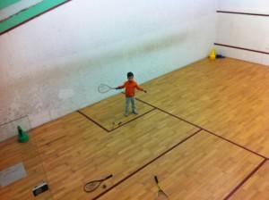 Terrain de squash à Nantes par Sakura